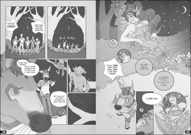 The Graphic Novel Plain Text Midsummer Nights Dream A